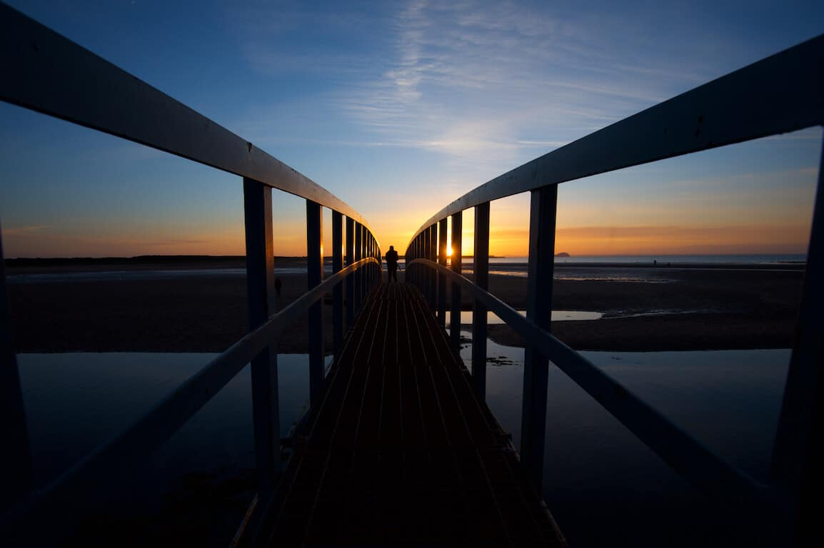 Belhaven Bridge, Dunbar, East Lothian - Bridge to Nowhere Rob McDougall Phototgrapher