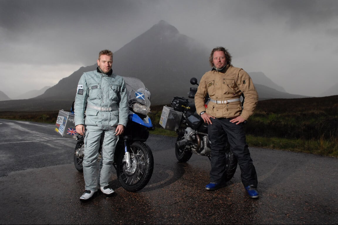 Long Way Down,, Ewan McGregor, Charlie Boorman