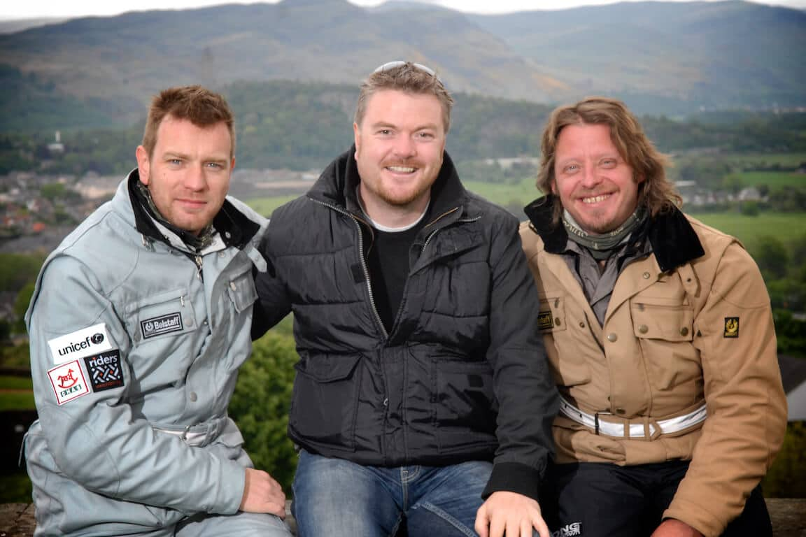 Long Way Down,, Ewan McGregor, Charlie Boorman