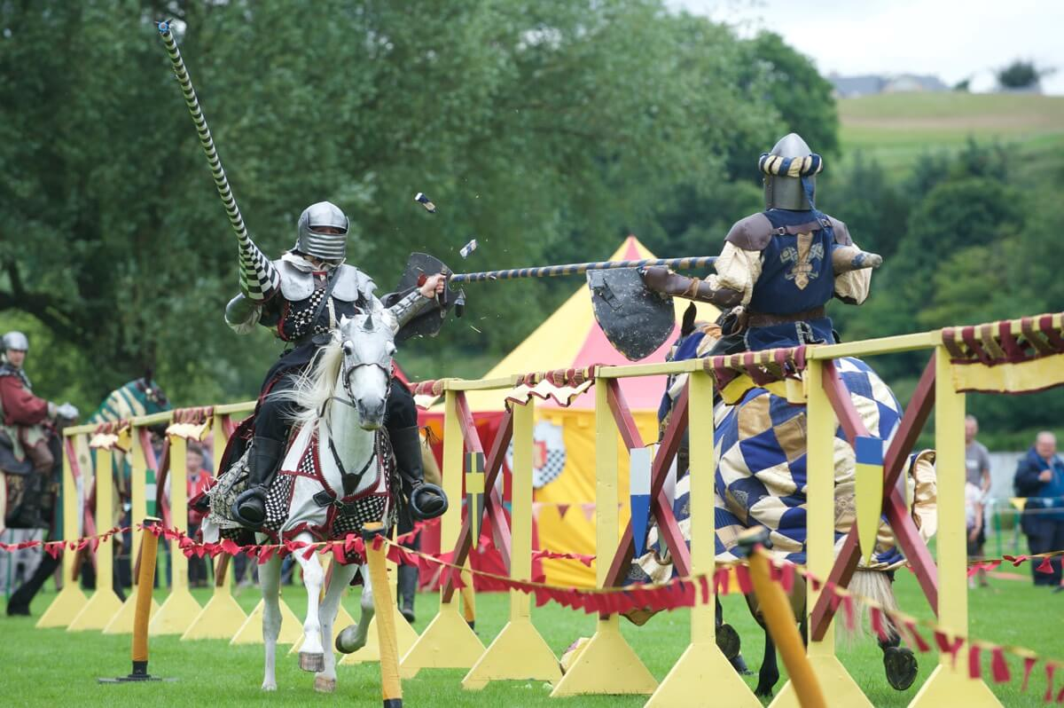 Jousting Tournament - Rob McDougall Professional Photographer and Film Maker Edinburgh