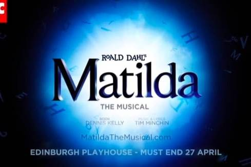 Matilda the Musical Edinburgh Playhouse featured image - Rob McDougall Professional Photographer and Film Maker Edinburgh