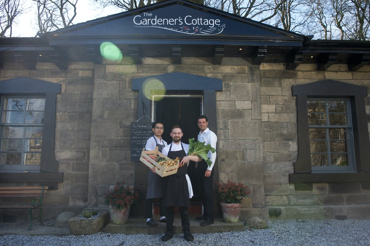 Gardener's Cottage, Edinburgh Client: Scotland Food and Drink Rob McDougall Professional Photographer and Film Maker Edinburgh