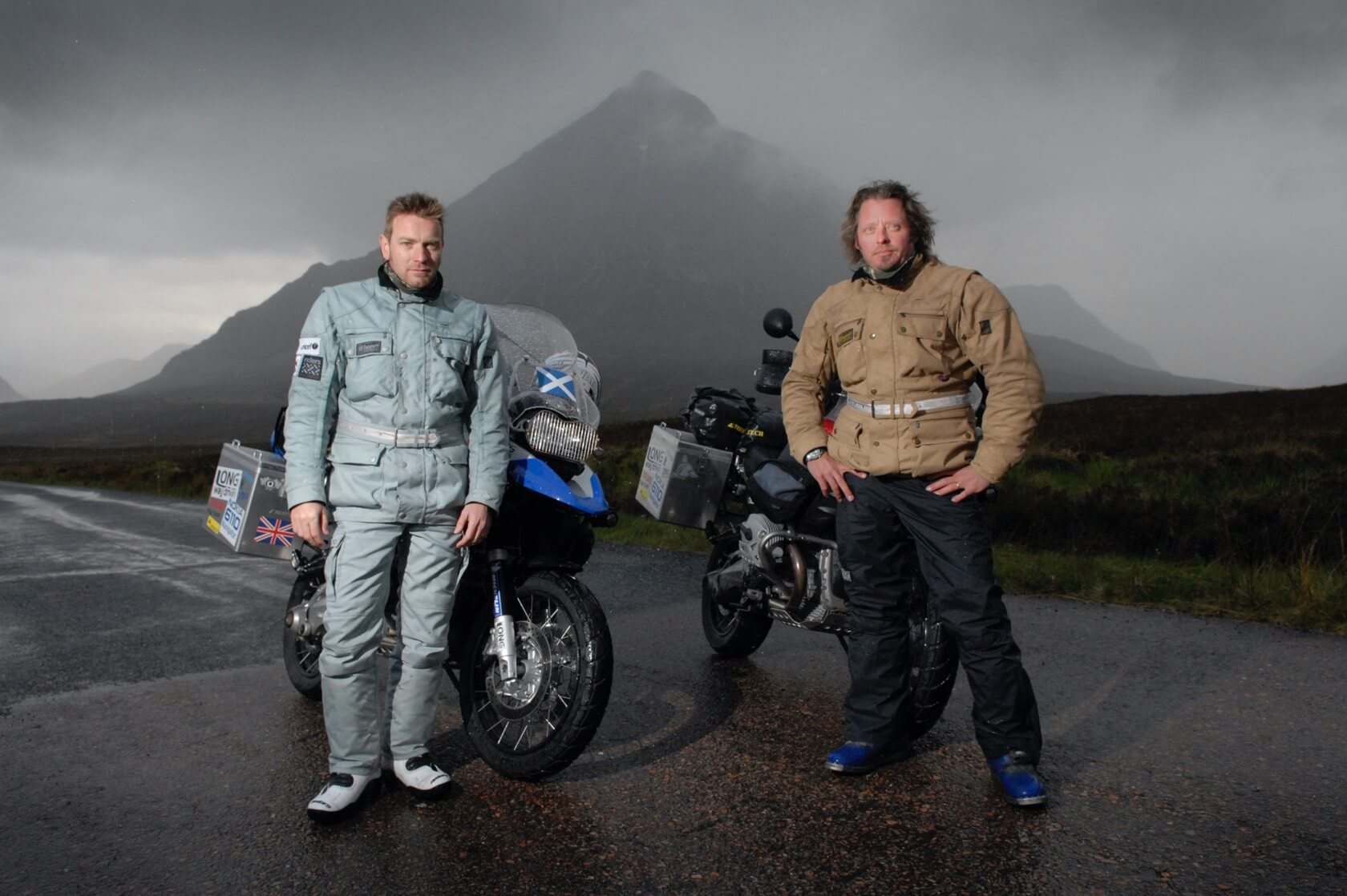 Ewan McGregor & Charlie Boorman Long Way Round - Rob McDougall Professional Photographer and Film Maker Edinburgh