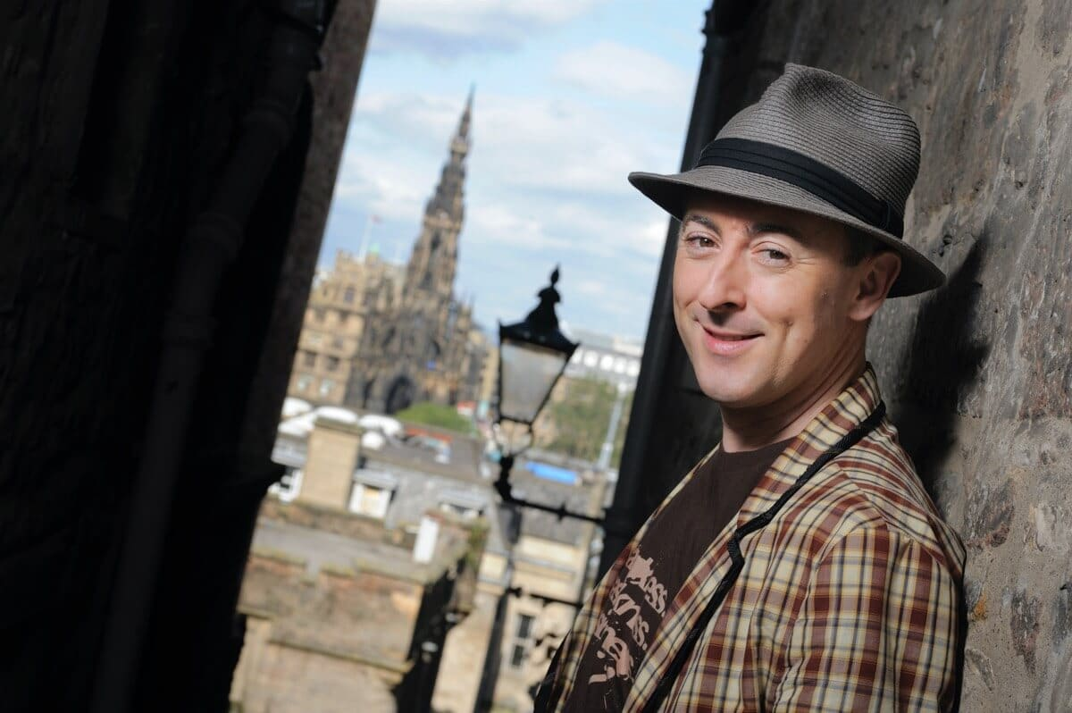 Alan Cumming in Edinburgh Client: VisitScotland Rob McDougall Professional Photographer and Film Maker Edinburgh