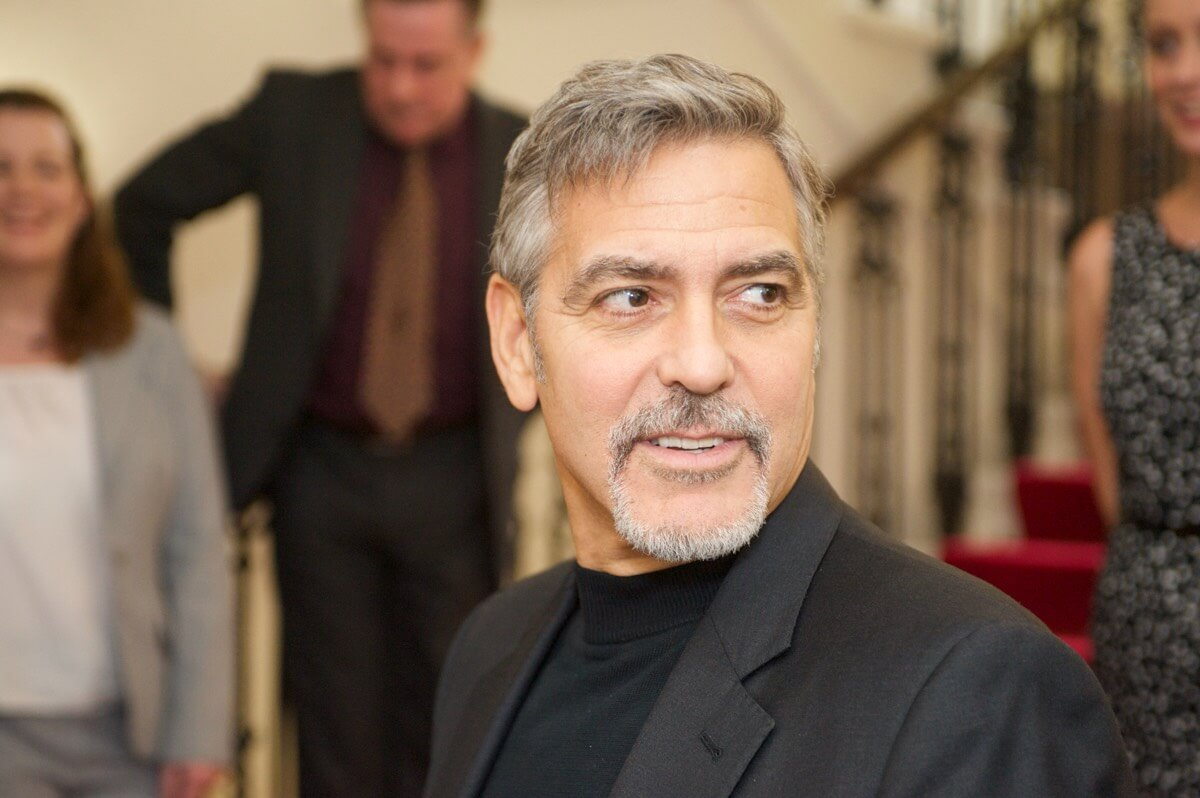 George Clooney - Rob McDougall Professional Photographer and Film Maker Edinburgh