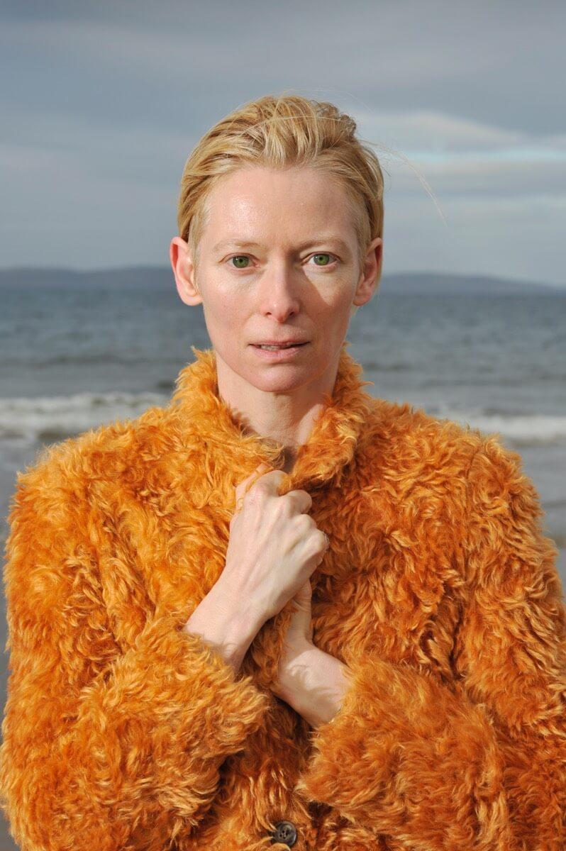 Tilda Swinton on Nairn Beach Client: Press/Scotland on Sunday/Spectrum Magazine Rob McDougall Professional Photographer and Film Maker Edinburgh